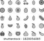 thin line gray tint vector icon ... | Shutterstock .eps vector #1820056085