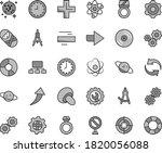 thin line gray tint vector icon ... | Shutterstock .eps vector #1820056088