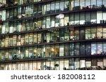 window office room building for ... | Shutterstock . vector #182008112