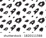 panther leopard fashion... | Shutterstock .eps vector #1820111588
