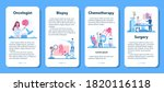 professional oncologist mobile... | Shutterstock .eps vector #1820116118
