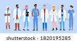 doctor people diversity... | Shutterstock . vector #1820195285
