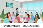 coaching and mentoring ideas... | Shutterstock .eps vector #1820231888