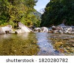 Himalayan Mountain Stream In...