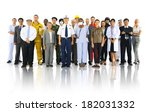 diversity of people and... | Shutterstock . vector #182031332