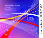 abstract background. vector | Shutterstock .eps vector #182031956