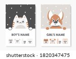 a set of children's posters ... | Shutterstock .eps vector #1820347475