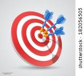 Target With Darts  Target 3d...