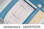 Electrocardiograph Ekg Or Ecg...