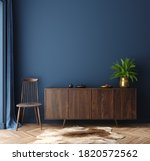 Commode With Chair And Decor In ...