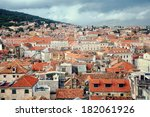 aerial view of split   the... | Shutterstock . vector #182061926
