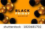 black friday elegant poster... | Shutterstock .eps vector #1820681702