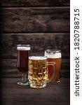 Various Sorts Of Draft Beer In...