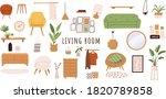 trendy scandinavian hygge...   Shutterstock .eps vector #1820789858