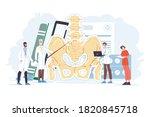 medical treatment for... | Shutterstock .eps vector #1820845718