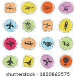 air transport web icons for... | Shutterstock .eps vector #1820862575