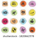 business and finance color... | Shutterstock .eps vector #1820862578