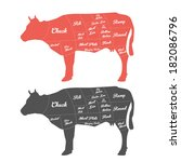 agriculture,angus,animal,beef,beef-cuts,bottom,brisket,broiling,bull,butcher,butchery,cattle,chart,chuck,cooking
