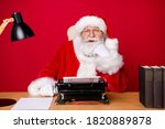 Photo Of Santa Claus Grey Beard ...