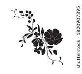 botanical illustration. flower...   Shutterstock .eps vector #1820907395