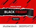 blackfriday background with... | Shutterstock .eps vector #1820914715