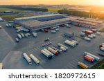 Logistics Park With Warehouse ...