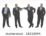 businessman in several... | Shutterstock . vector #18210094