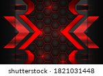 abstract technology background...   Shutterstock .eps vector #1821031448