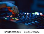 dj music night club | Shutterstock . vector #182104022