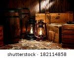 Old Fashioned Light Kerosene...