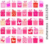 happy mother's day  seamless...   Shutterstock .eps vector #182115248