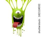 3d Render Fantasy Monster ...