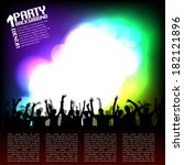 party background | Shutterstock .eps vector #182121896