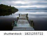 Pier At Loch Lomond  Highlands  ...
