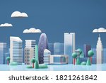 3d rendering illustration stage ... | Shutterstock . vector #1821261842