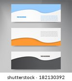 vector abstract background  and ... | Shutterstock .eps vector #182130392