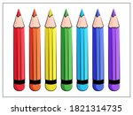 vector set of varicolored color ...