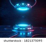 Futuristic 3d Render Mockup....