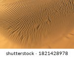 Pattern Of Golden Sand On A...