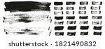 flat paint brush thin long... | Shutterstock .eps vector #1821490832