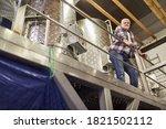 Older Winemaker As Master...