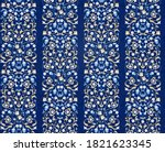 vector seamless pattern with... | Shutterstock .eps vector #1821623345