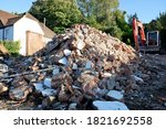 Pile Of Rubble Resulting From...