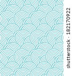 crossed circle pattern | Shutterstock .eps vector #182170922