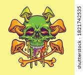 sugar skull magic mushrooms...