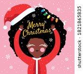 christmas holidays vector... | Shutterstock .eps vector #1821865835