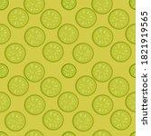 Cucumber Slices Ilustration...