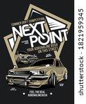 next point  classic custom... | Shutterstock .eps vector #1821959345