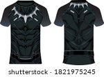 sports 3d t shirt jersey design ...   Shutterstock .eps vector #1821975245