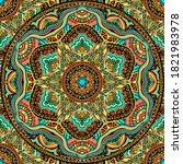 seamless abstract festive... | Shutterstock .eps vector #1821983978